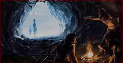 Seres extraterrestres dimensionales o prehumanos han visitado a los humanos desde la prehistoria