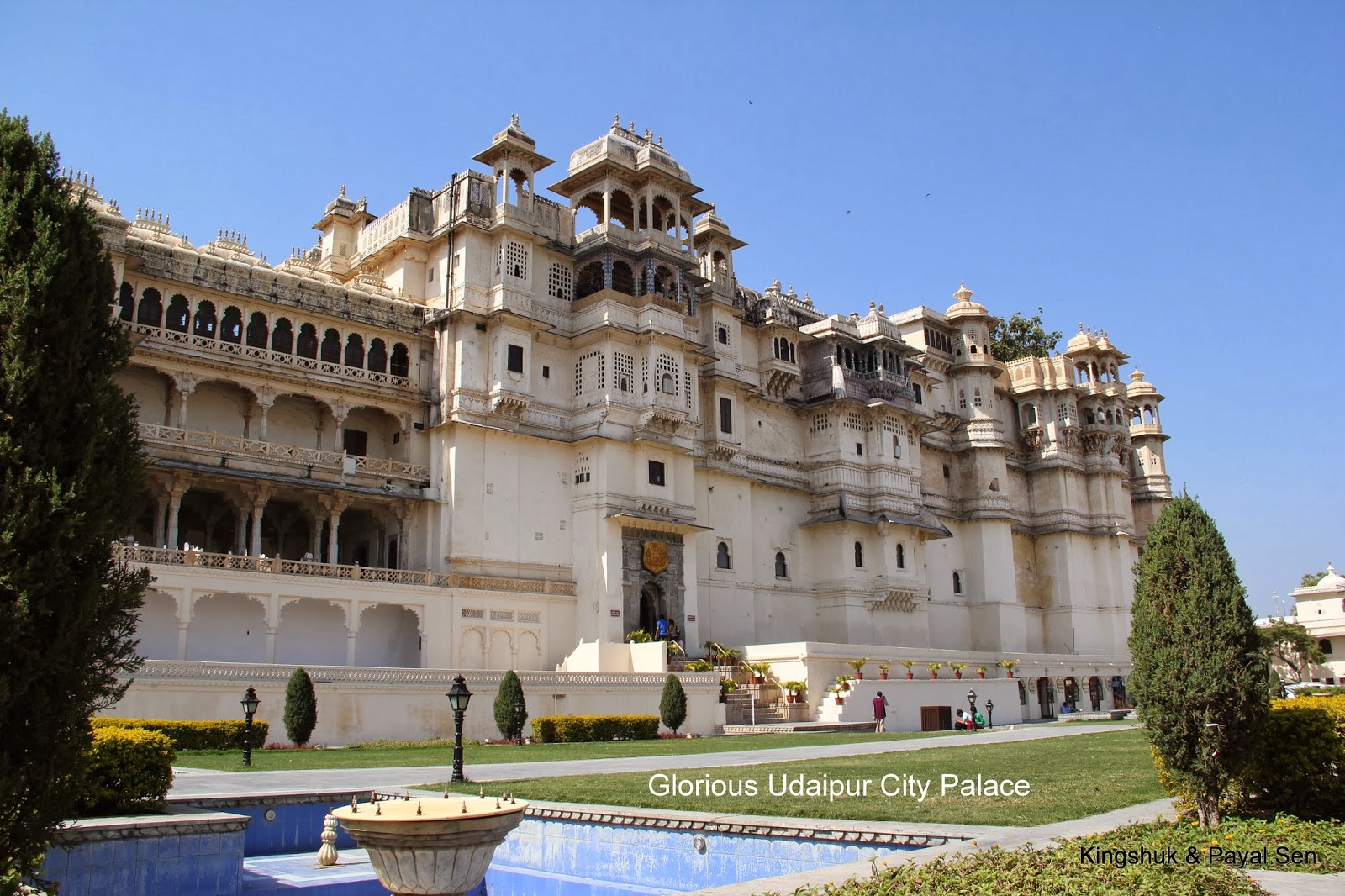 My Blogs - Consolidated: Majestic City Palace, Udaipur