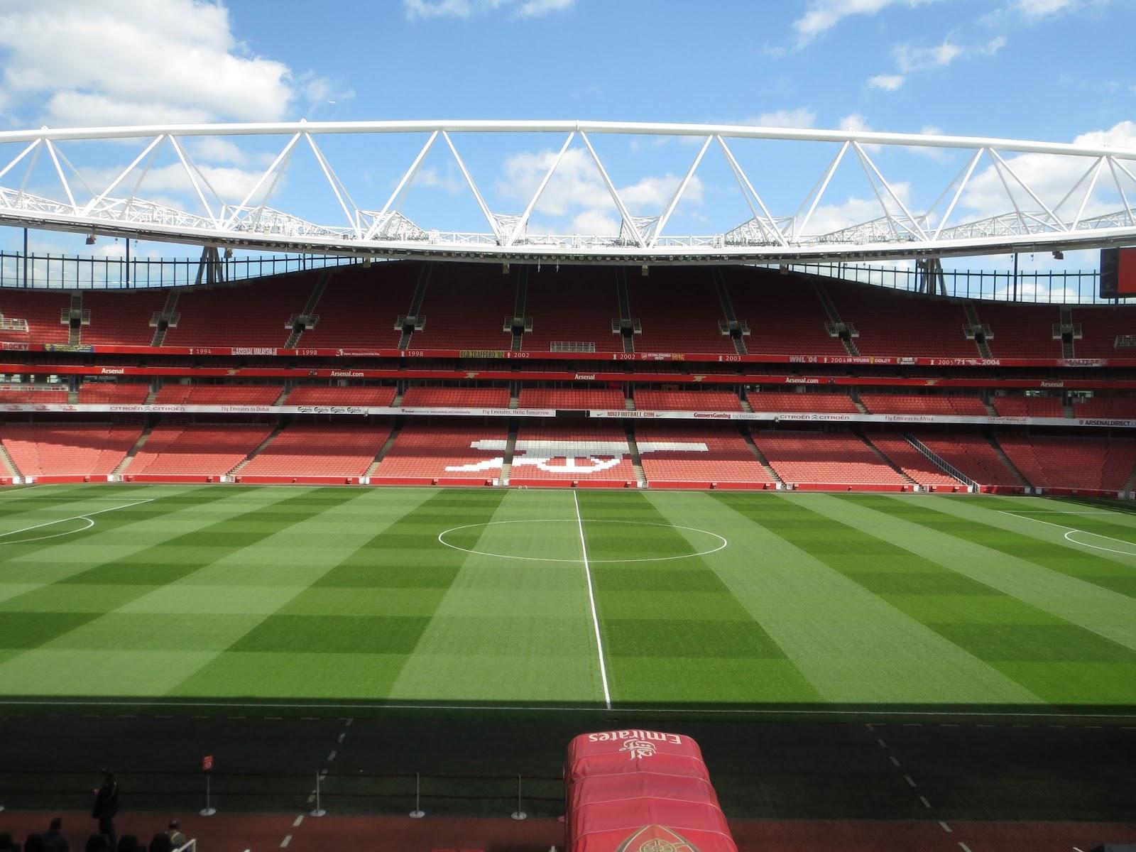 Londinoupolis The Emirates Stadium