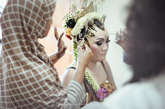 foto make up tradisional/rias paes jawa di yogyakarta