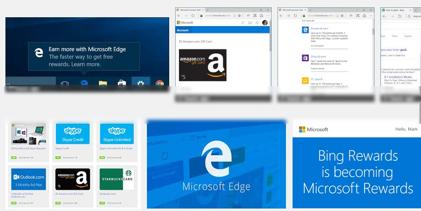 2020TECH: Ways To Earn Amazon Gift Cards by Using Edge or Bing ...