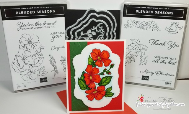 Color Your Season Promotion, seasonal, holiday, Stampin Up