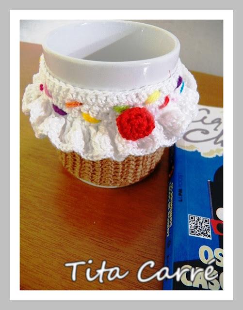 Crochet Mug Cupcake