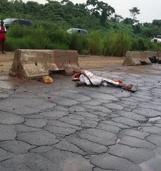 WELCOME TO ALABEKEE'S BLOG: Graphic Photos: Man's Body