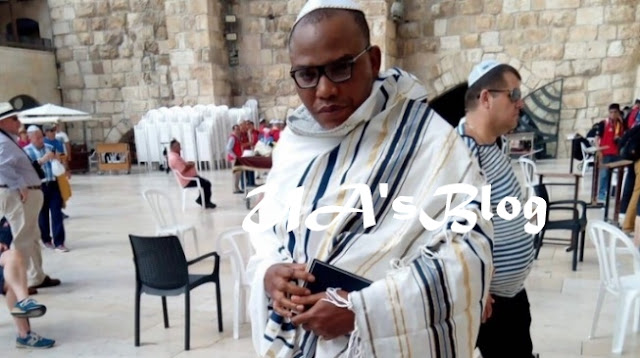 BREAKING: Israel Formally Grants Nnamdi Kanu Protection