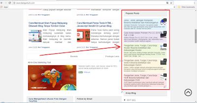 Cara Membuat Widget Popular Post Berwarna-Warni di Blogspot