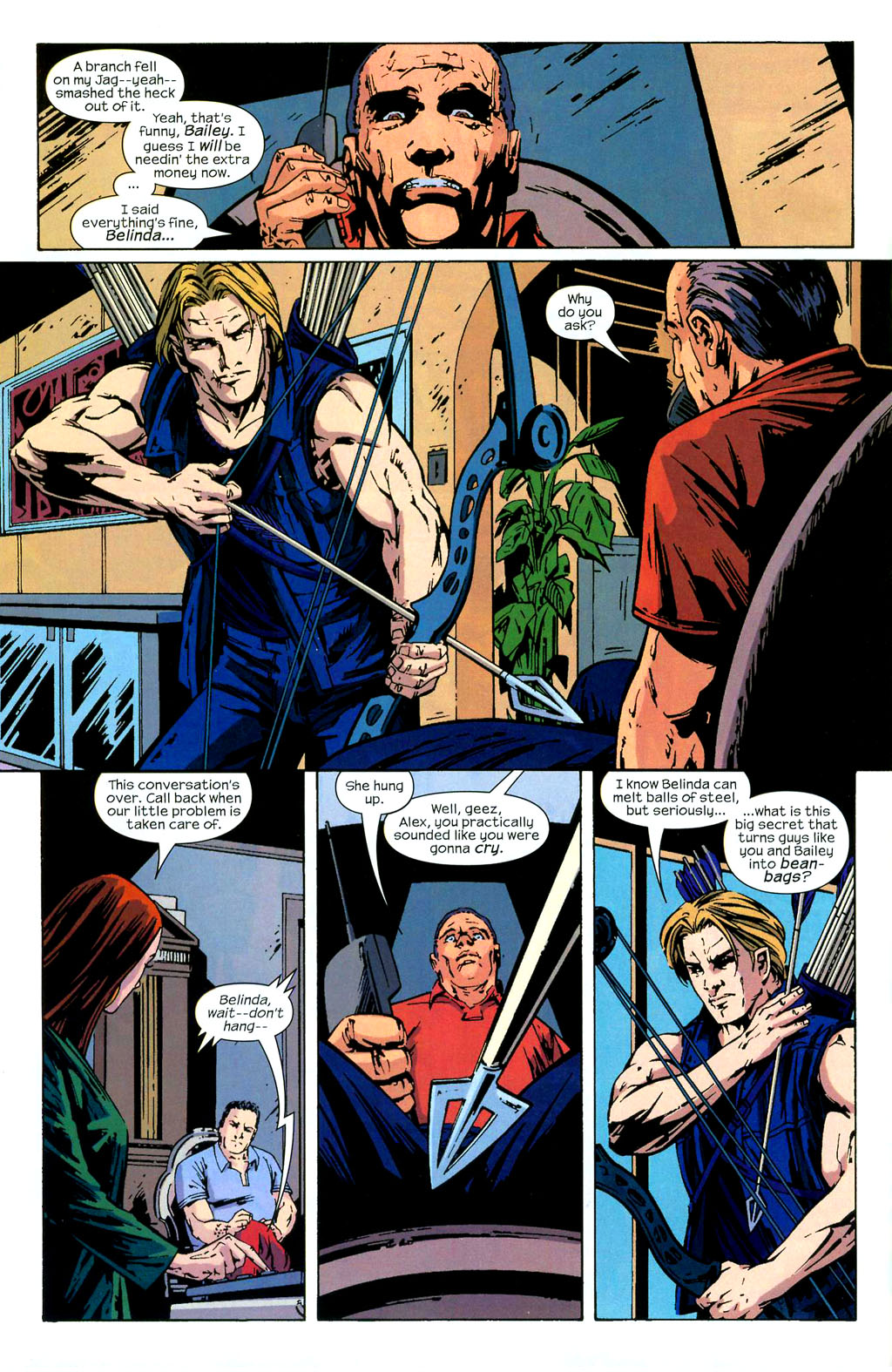 Hawkeye (2003) Issue #3 #3 - English 15