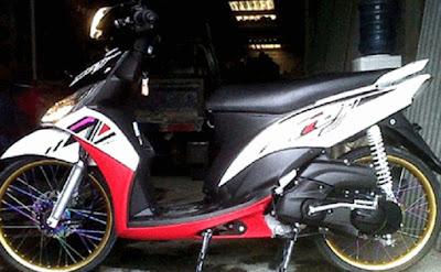Variasi Motor Mio J terbaru