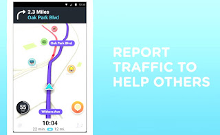 Waze notify, alert, apps, traffic report