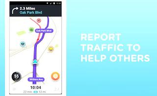 Waze notify, alert, apps, traffic report