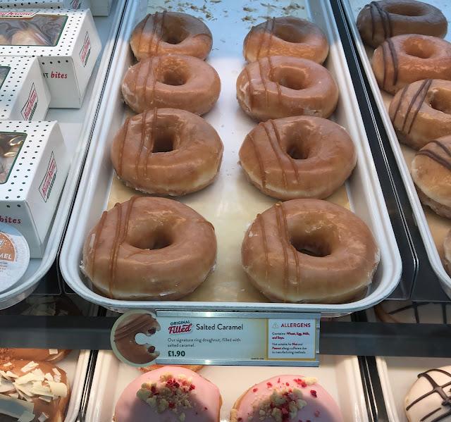 Salted Caramel Original Filled Doughnut (Krispy Kreme)