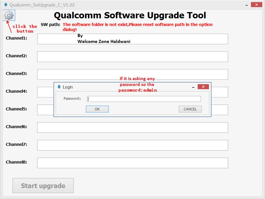 Qualcomm flash tool