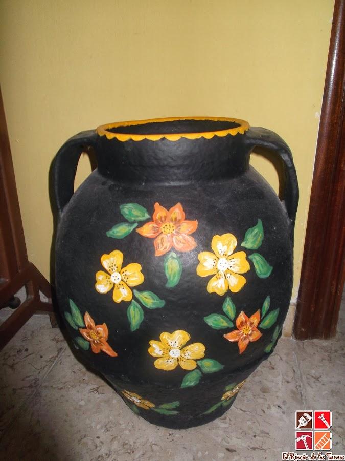 vasija decorada