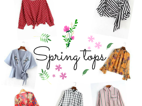 Spring wishlist - tops