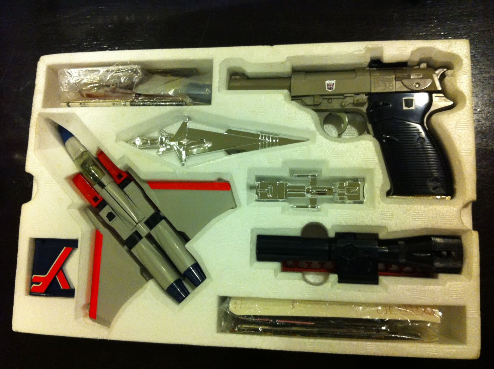 Interstate Megatron 2 >> The Cave Collection: Transformers Vintage Goodbye Megatron Giftset...Complete and Unused...Woo ...