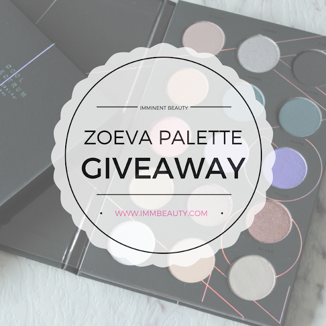 Zoeva Eyeshadow Palette GIveaway Winner Annoucement
