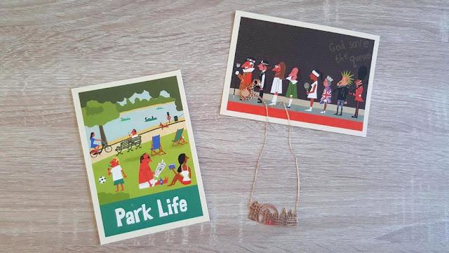 cartes-postales-vintage-londres