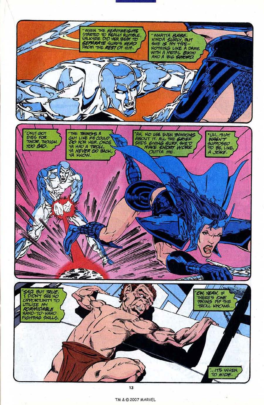 Read online Silver Surfer (1987) comic -  Issue #88 - 15