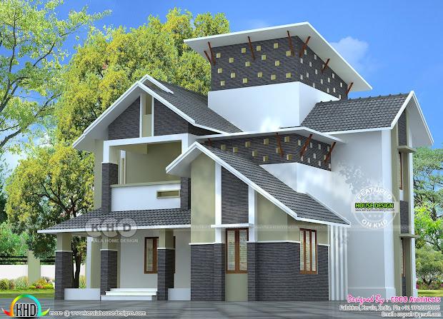 Modern House Roof Designs Plans