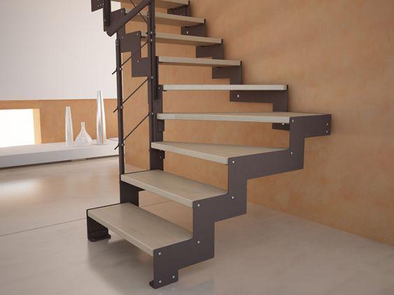 La escalera definici n partes y tipos de arkitectura for Escaleras 7 escalones