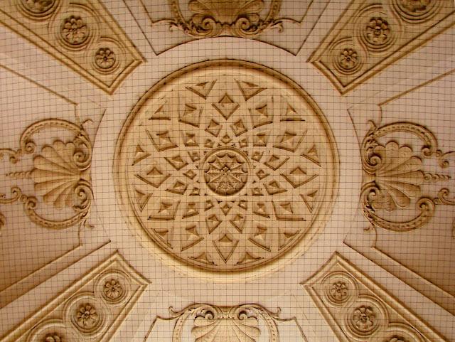 Ceiling detail Hofburg Palace Vianna