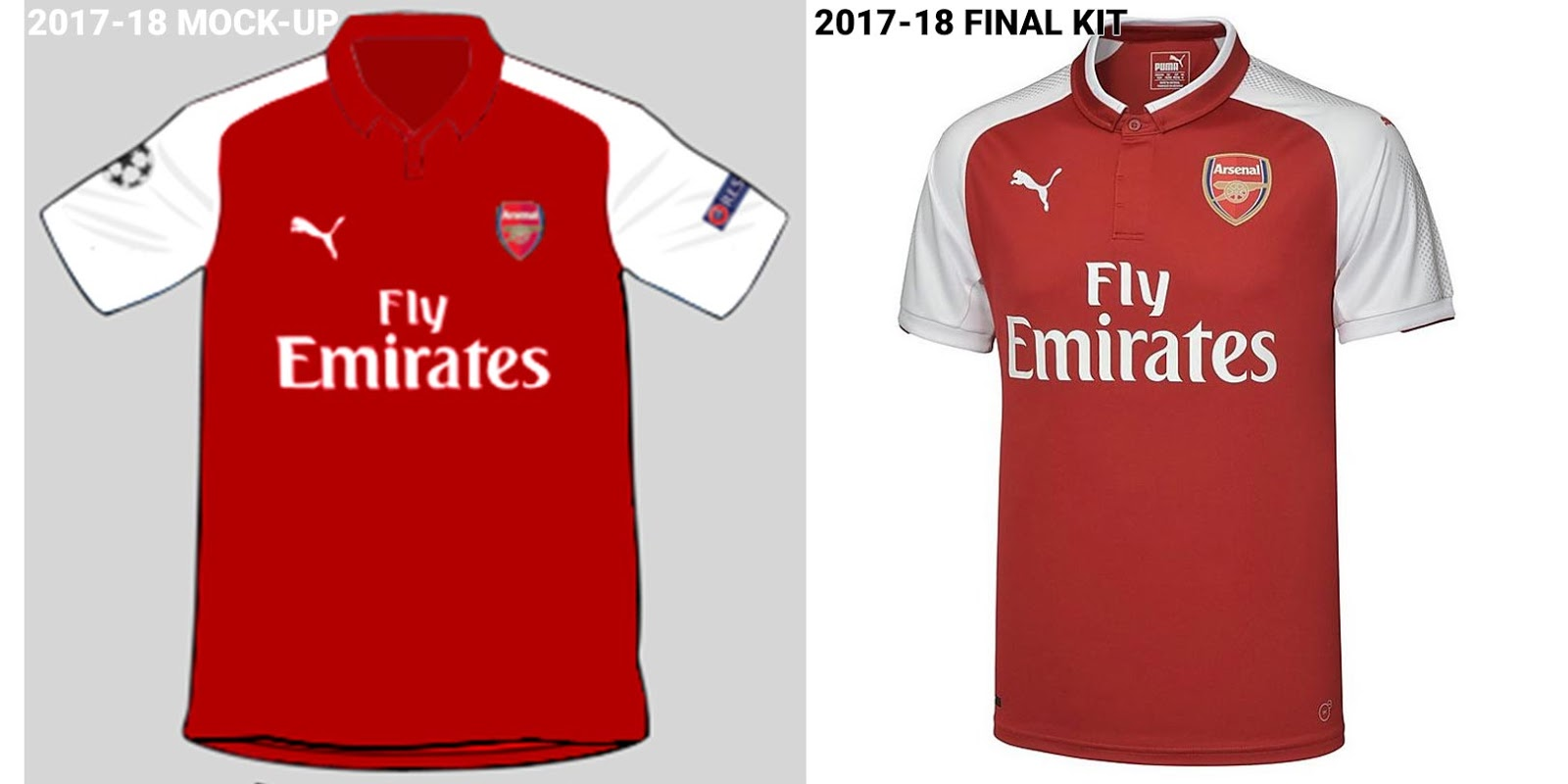 e05490473 LEAKED  This Is How The Adidas Arsenal 19-20 Home Kit Will Probably ...
