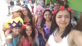 Escola da Família da Escola Yolanda realiza Oficinas para alunos da Escola Deborah em comemoração ao Dia das Crianças