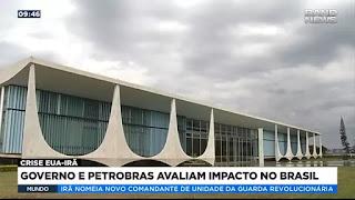 Governo e Petrobras avaliam impacto no Brasil