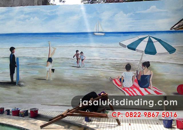 Lukisan 3D di Lampung