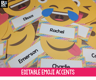 Editable Emoji Accents
