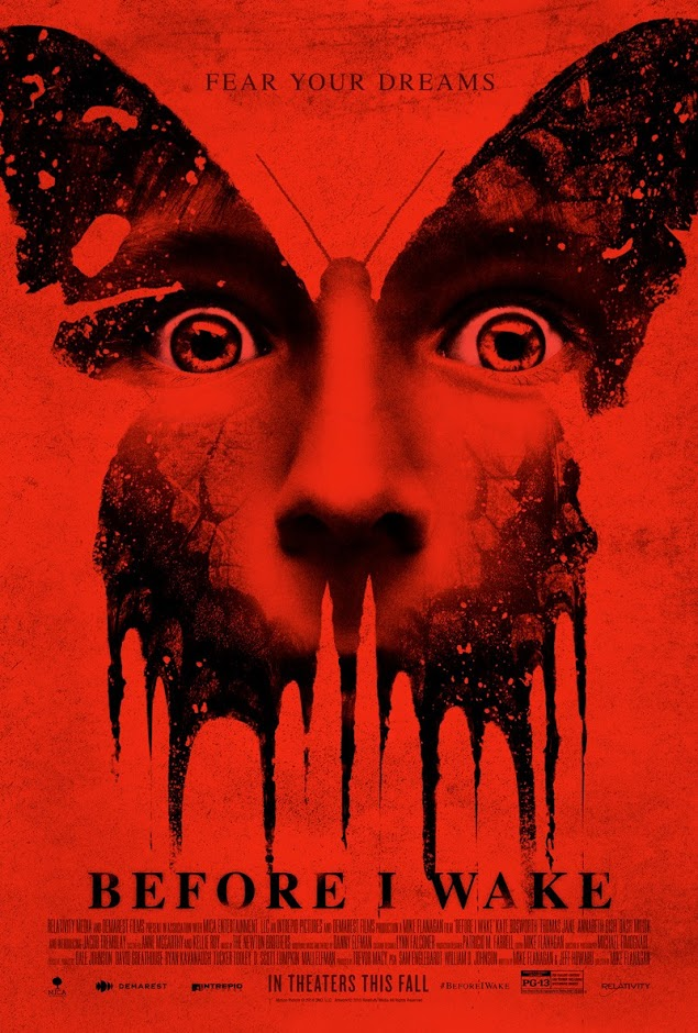 Primeiro poster oficial de Before I Wake dá asas aos pesadelos