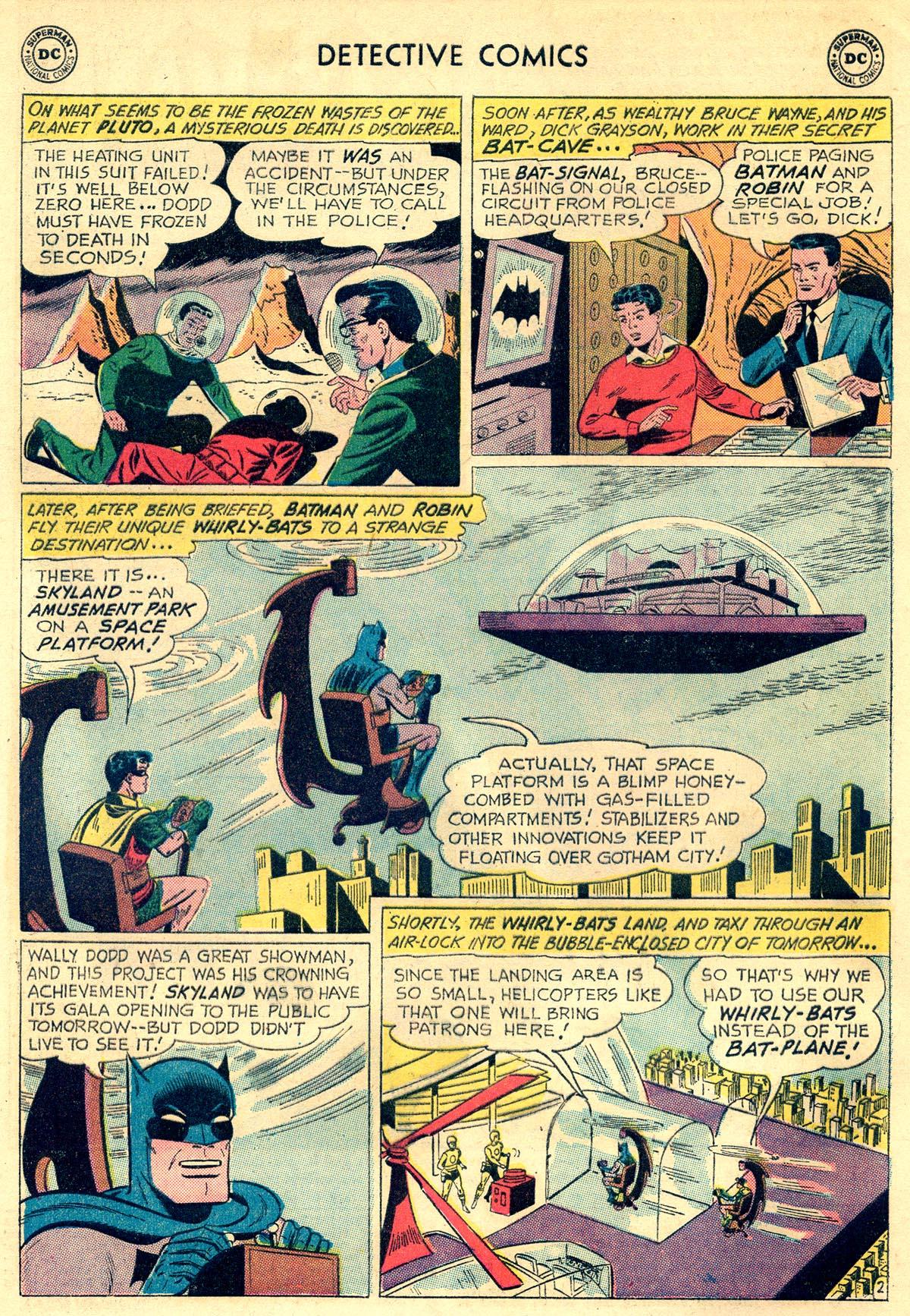 Detective Comics (1937) 303 Page 3