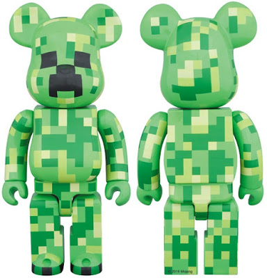 Minecraft Creeper 400% Be@rbrick Vinyl Figure by Medicom