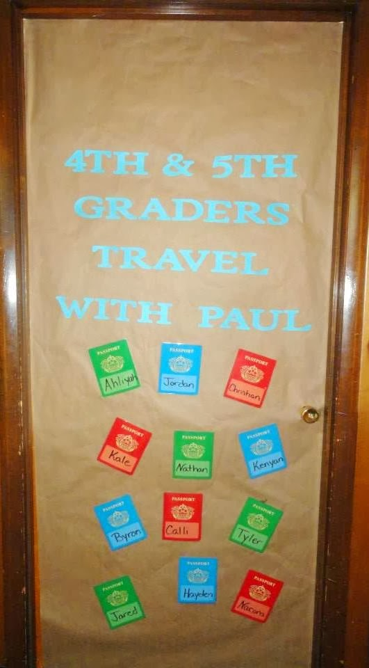 Bible Fun For Kids: Missionary Journey's of Paul From the ...