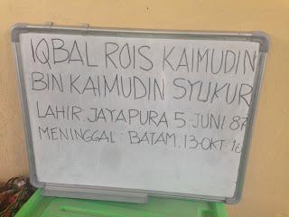 Iqbal Rois Kaimudin, TributetoIqbalRois, TributetoJalankemanagitu,
