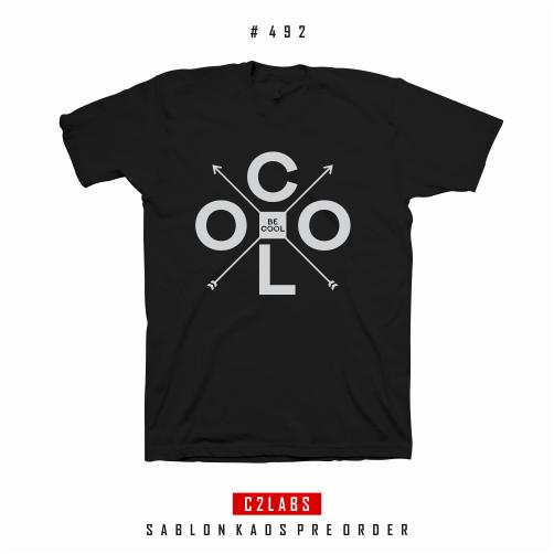 Be Cool - Desain Kaos Typography #492