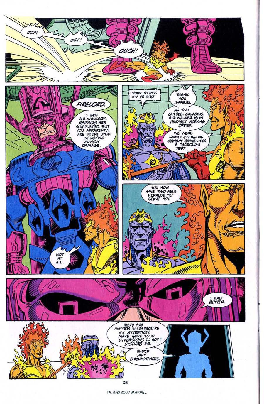 Read online Silver Surfer (1987) comic -  Issue #76 - 26