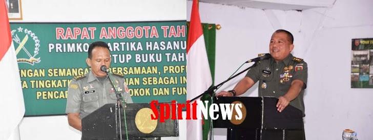 Kasrem 141/Tp, Membuka Rapat Tahunan Ke 46 Primpo Kartika Hasanuddin Toddopuli