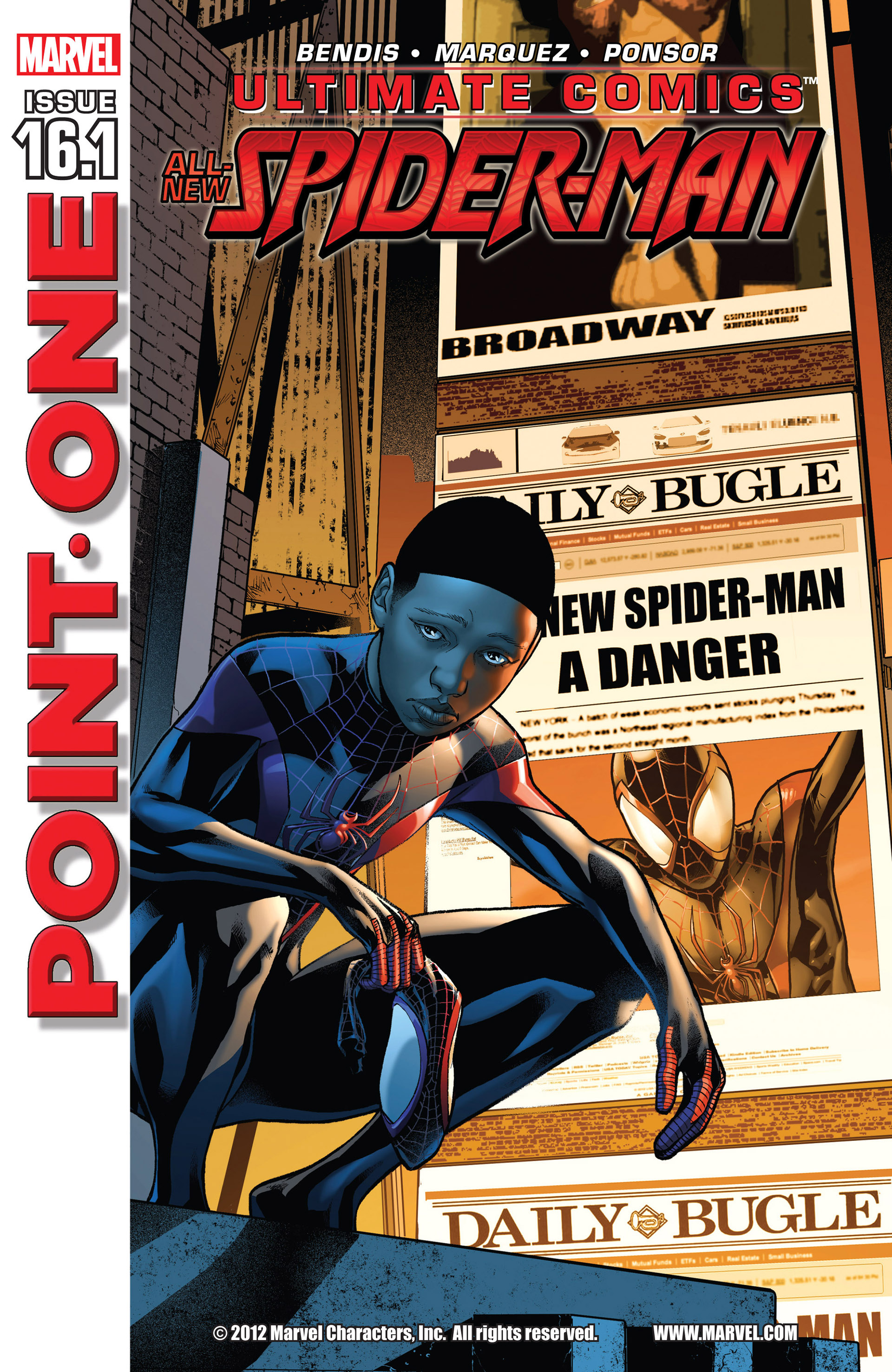 Read online Ultimate Comics Spider-Man (2011) comic -  Issue #16.1 - 1
