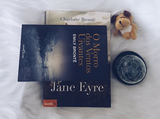 Jane Eyre e O Morro dos Ventos Uivantes, das irmãs Bronte