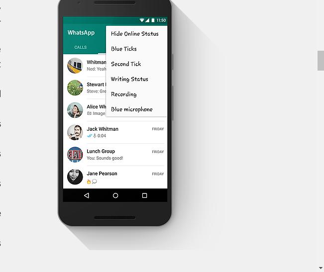 Gb Whatsapp Mod Update Checkout V6 40 Free Latest 2018 Version Bukasblog