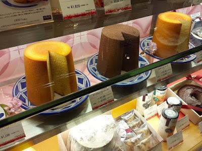 Japanese sponge cakes