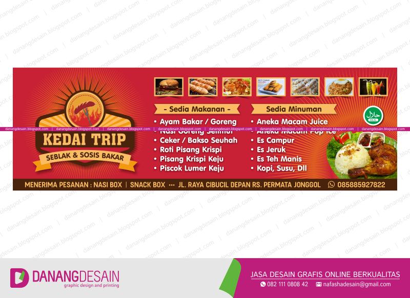 Contoh Desain Spanduk Banner Seblak & Sosis Bakar - Contoh ...