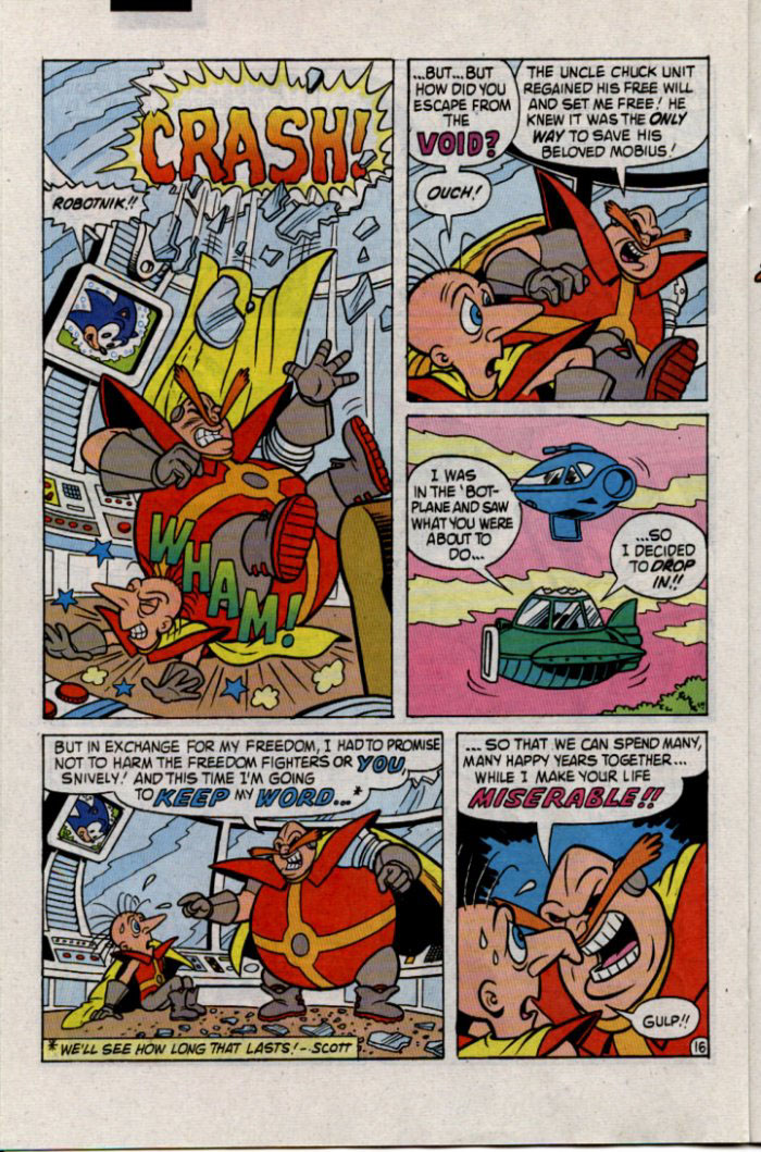 Read online Sonic The Hedgehog comic -  Issue #30 - 17