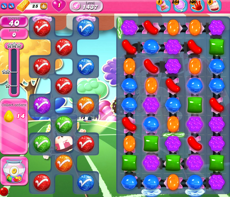 Candy Crush Saga 1437