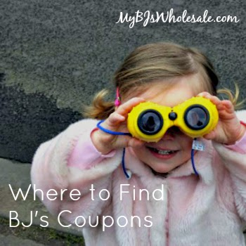 Where to find BJ's Coupons