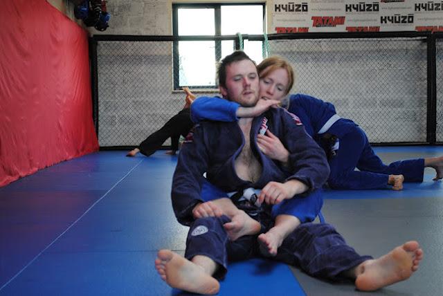 Amanda English On Rolling Around With Jiu Jitsu Real