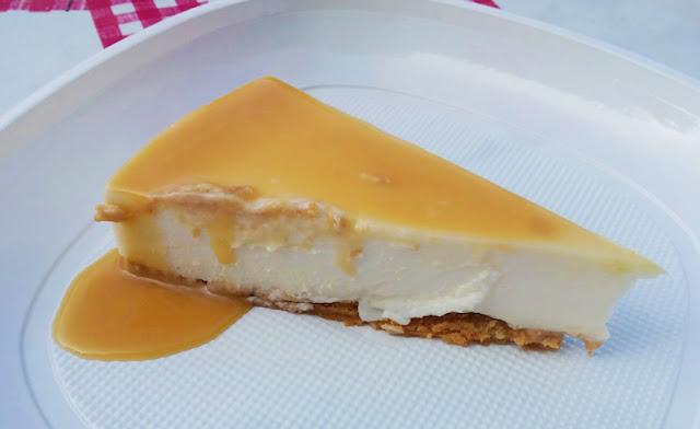 receta de tarta de queso y cuajada con thermomix