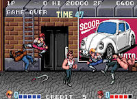 Videojuego Double Dragon - versión arcade