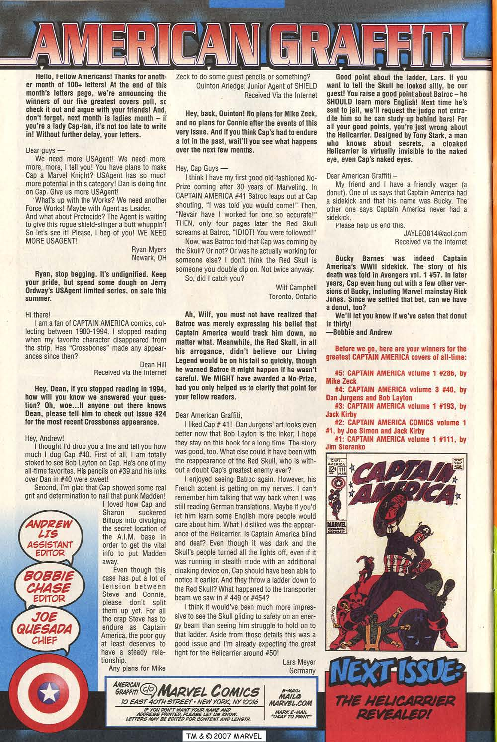 Captain America (1998) Issue #45 #52 - English 34